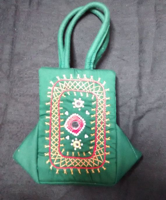 Handcrafted Handbag. by PattachitraNet on Etsy