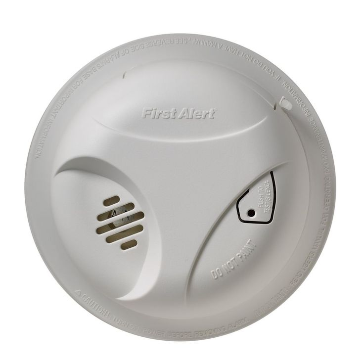 how to change fire alarm battery wired