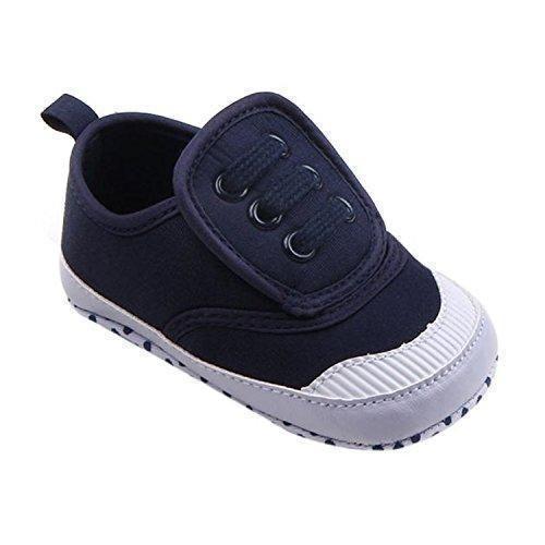Oferta: 0.93€. Comprar Ofertas de ZARU Calzado infantil Boy Niña suavemente único cuna de lona de la zapatilla de deporte (13, Azul oscuro) barato. ¡Mira las ofertas!