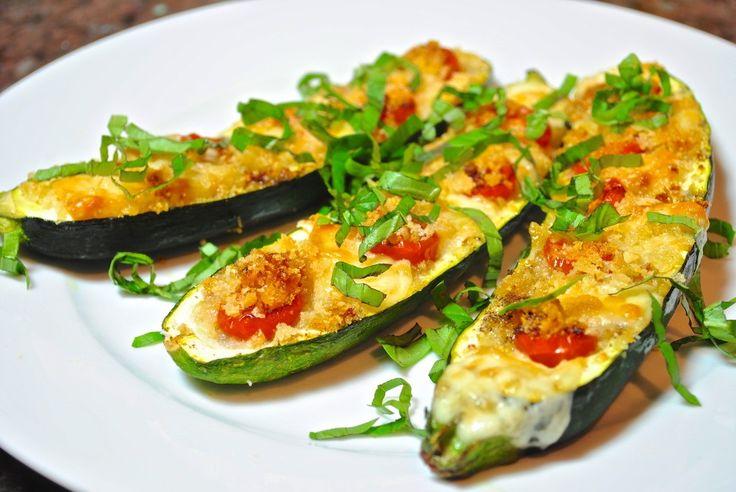 Rellena tus #calabazas al gusto y ponlas al horno!