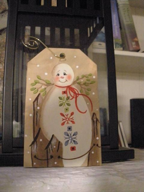 Christmas Angel Snow Lady Ornament