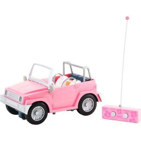 Moxie Girlz Summer Swim Magic Radio-Controlled Jeep, 27MHz, Pink