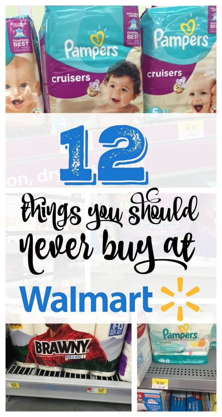 12 things you should never buy at walmart