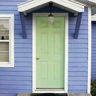 Exterior Paint Colors Combinations Green