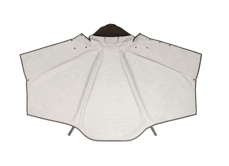 mavari is a versatile, waterproof cloak that transforms into a backpack - designboom | architecture