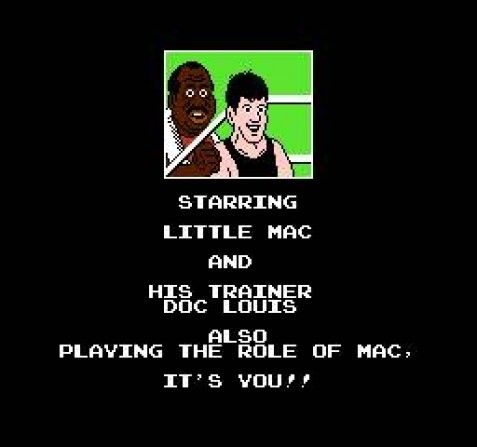 Punch Out on the NES... not a Mario title, but can you guess who the ref is?  Find out at http://www.superluigibros.com/punch-out