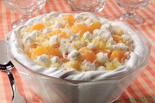 Mandarin Orange Jello Cake Recipe: Mandarin Oranges, Crushed Pineapple, Mini Marshmallows And