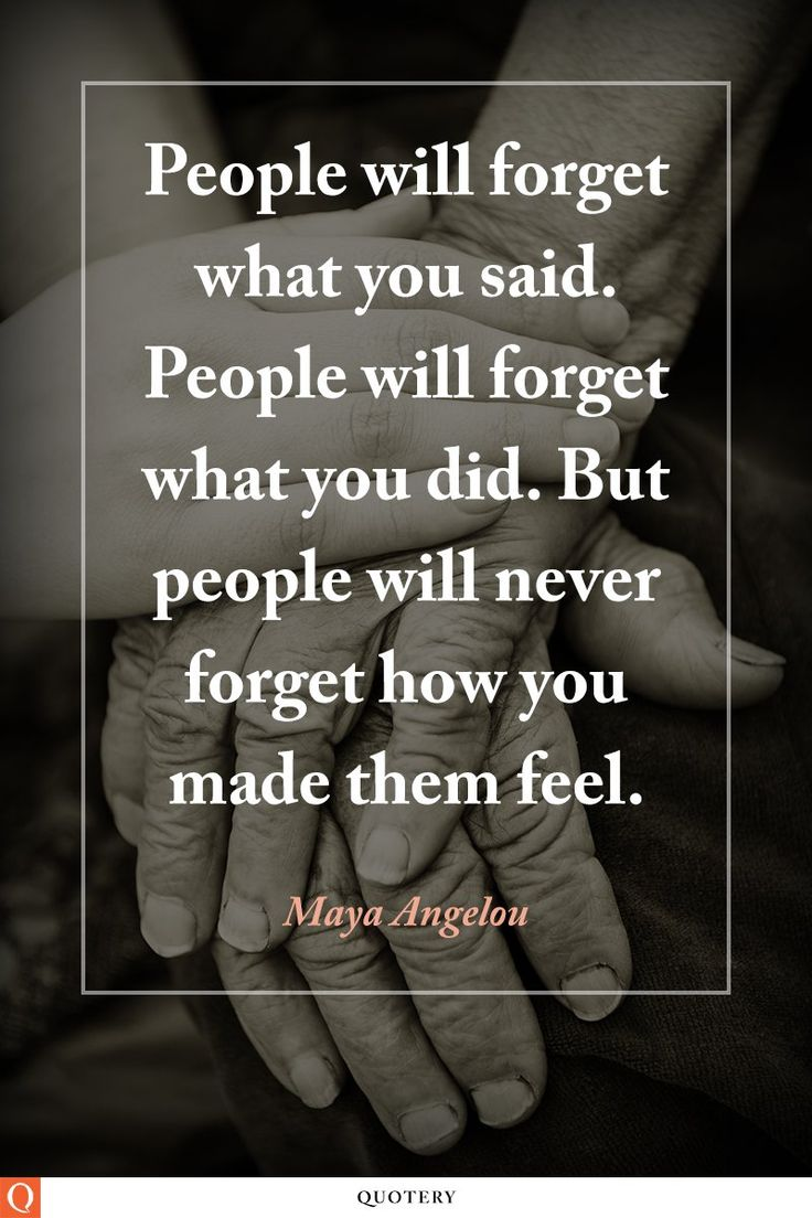 Inspirational quote from Maya Angelou.