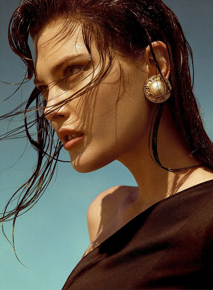 Catherine McNeil for Vogue Spain May 2015 | The Fashionography