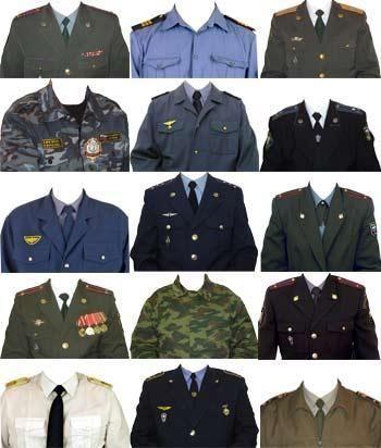 Бесплатно подборка военных костюмов шаблоны для фотошоп
