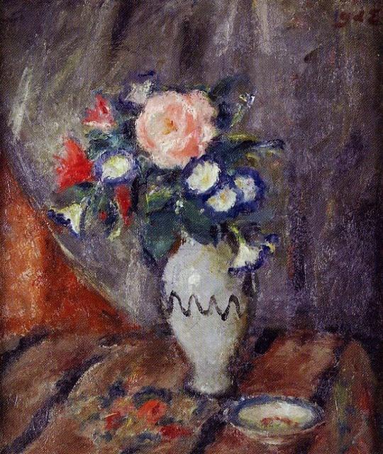 Georges d'Espagnat - Vase de fleurs