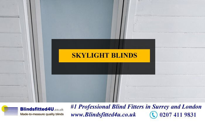 Skylight is the best option to add to light up your space with natural light. But, in summer, this light can heat up your home/ office, thus, causing discomfort. To overcome this problem, it is best to install Skylight Blinds. With Skylight Blinds, you can easily control the amount and intensity of light entering the room as per your need.