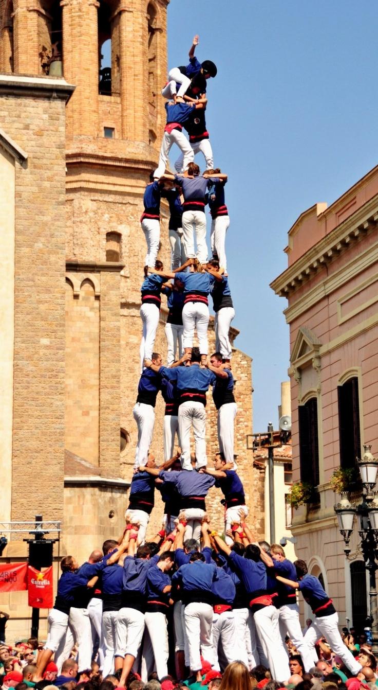 Colla Castellera Capgrossos de Mataró, uns dels ambaixadors més importants de la nostra ciutat al món.