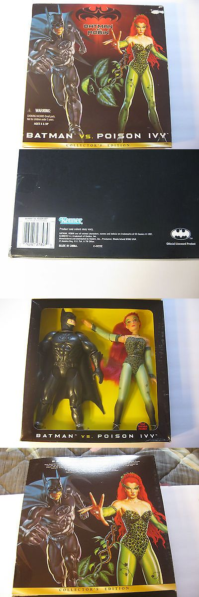 """Batman 146023: Batman Vs Poison Ivy 12"""" Collector'S Edition 2-Pack Batman And Robin Movie 1997 -> BUY IT NOW ONLY: $45 on eBay!"""