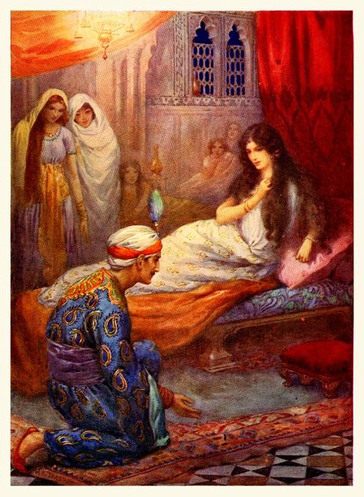 Arabian Nights  Harry G. Theaker http://www.pinterest.com/bagst/orientalist/