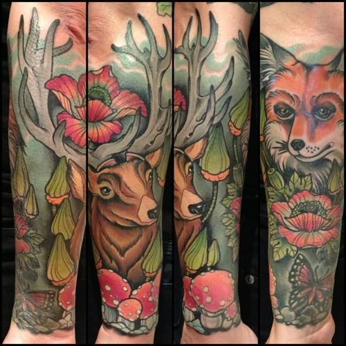 Mother Nature By Dean Kalcoff At Dark Cloud Electric In: The Most Beautiful Tattoos