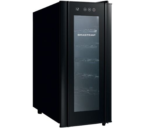 Adega All Black 12 Garrafas Brastemp 110v Bzc12be - R$ 799,00 no MercadoLivre