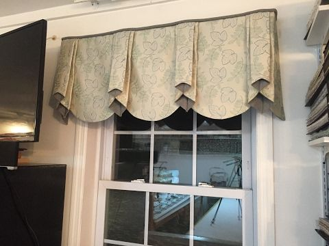 PROFESSIONAL LOOKING VALANCE YOU CAN MAKE AT HOME! (Part 1 of 2) - YouTube