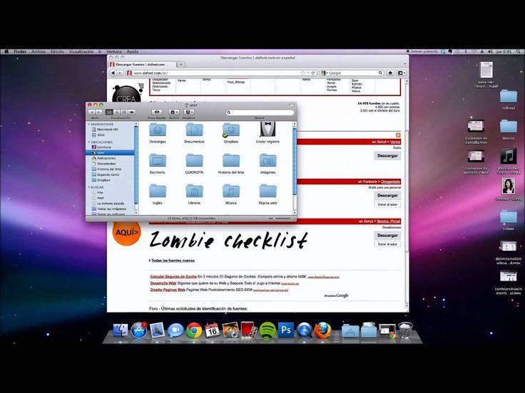 Cómo instalar fuentes y tipos de letra en Mac OS X