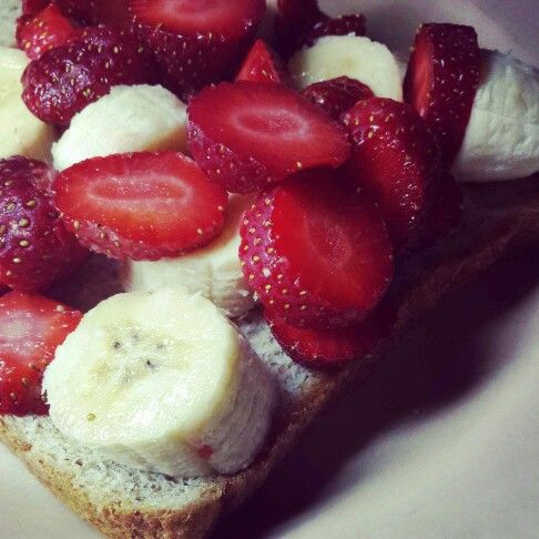 Berries banana whole wheat bread so yummm