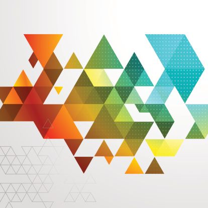 Abstract Triangle Bg Clipart vectoriel 497530857