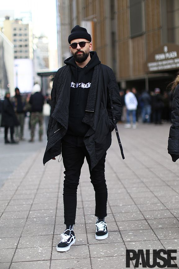 New York Fashion Week Feb 2016 Steet Style - Yeezy Season Show NYC (14)
