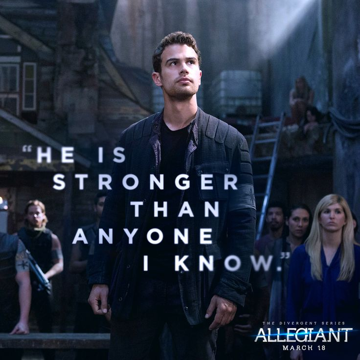On March 18, Four is put to the test in #Allegiant. Get your tickets!