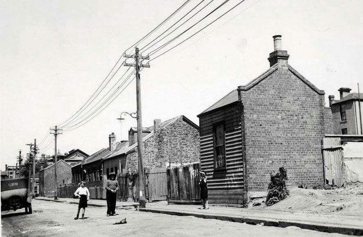 Little Oxford St in Collingwood,Victoria in 1935.