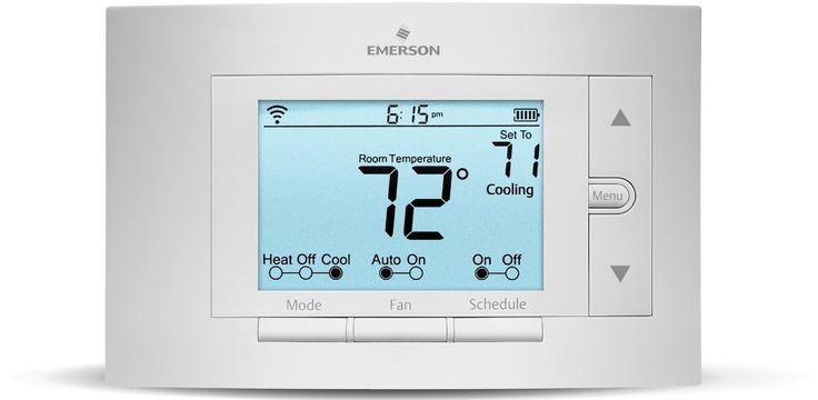 Sensi Smart Thermostat, Wi-Fi, UP500W, Works with Amazon Alexa ** To view further, visit now : home diy improvement