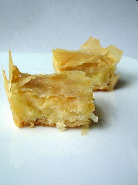 Custard-Filled Baklava (Baklava Muhalabiyya)