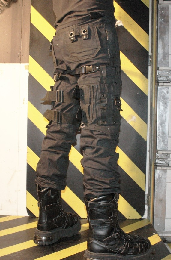 The Aggressor pants trousers by destruction101 www.sludgefaktory.com ANY SIZE