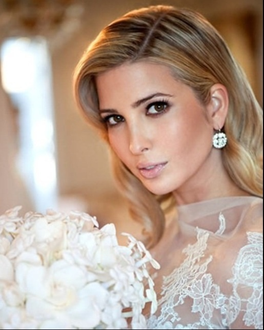 Celebrity bride: loving Ivanka Trumps dramatic look. www ...
