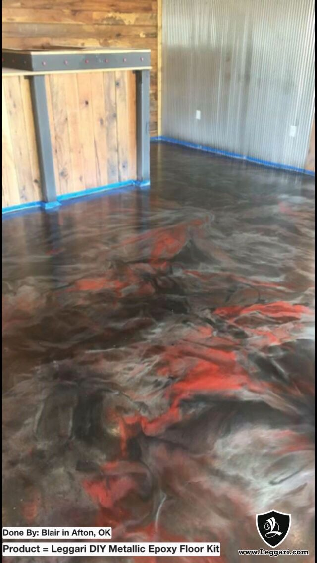 Epoxy Floor Kit Blair Used A Leggari