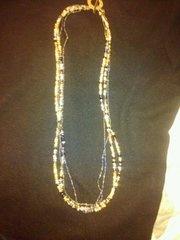 natural czech necklace
