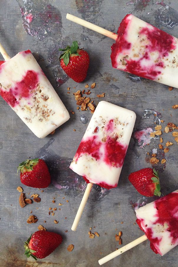 Know what you're having for breakfast tomorrow? Try a popsicle