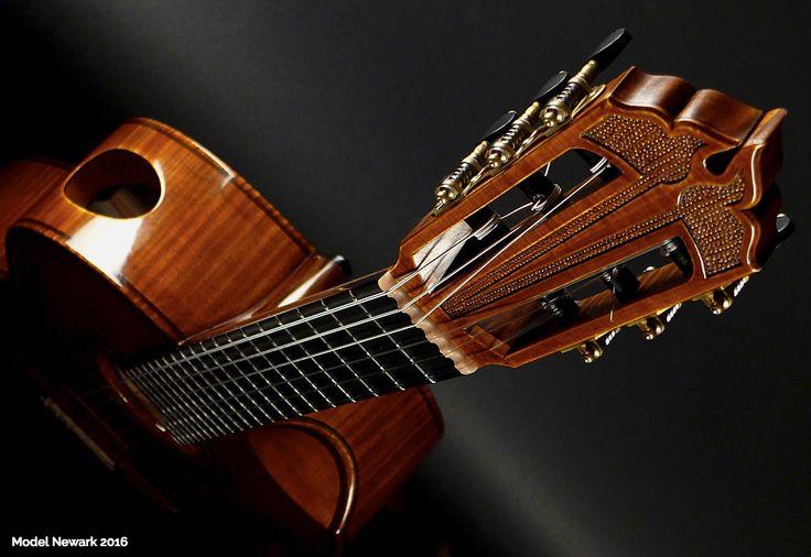 Beautiful & Unusual Classical Guitars - Episode 4: 'Newark' Christian Koehn