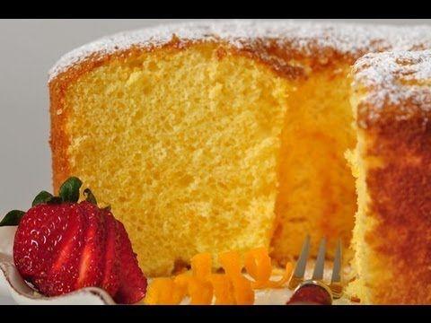 Orange en mousseline de soie Recette de gâteau - Joyofbaking.com * Recette de la vidéo *