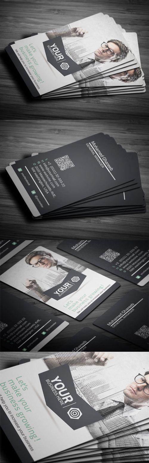 Creative Corporate Business Card #businesscards #printready #creativedesign #corporatebusinesscards #businesscardtemplates #businesscardsdesign