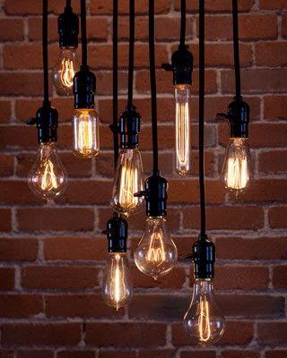 My Sweet Savannah: ~current obsession~{edison bulbs} Different lighting ideas.