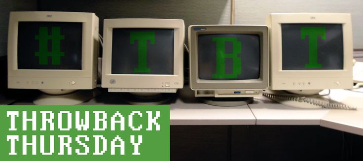 For all you computer lovers out there! ‪#‎tbt‬ Throw Back Thursday www.slkitsolutions.com