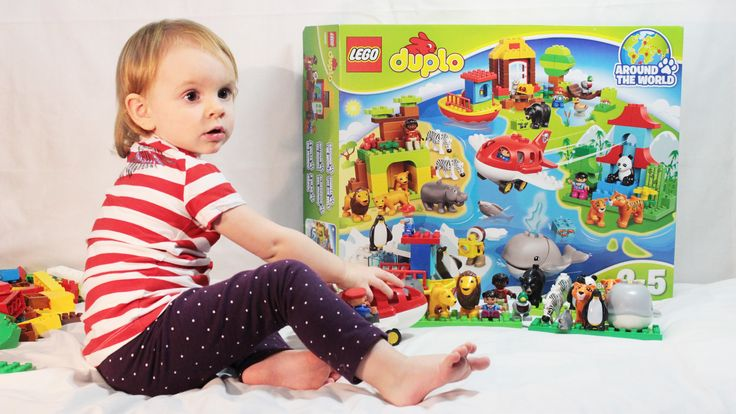 Конструктор для детей Лего Дупло Вокруг Света 10805 Lego Duplo Around t...