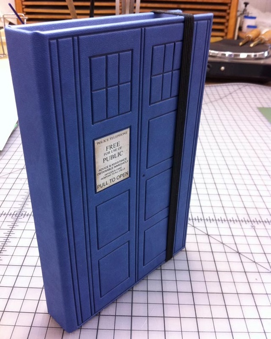 "Doctor Who TARDIS Kindle Fire Case - SO doing this if I get a Kindle - for my ""bigger on the inside"" library. ;)"