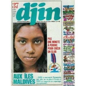 Djin n°37 du 14/09/1977 - Les îles Maldives - Créer un club - L'envol des migrateurs poster - Batiks et sarongs d'Indonésie -... [magazine mis en vente par Presse-Mémoire]