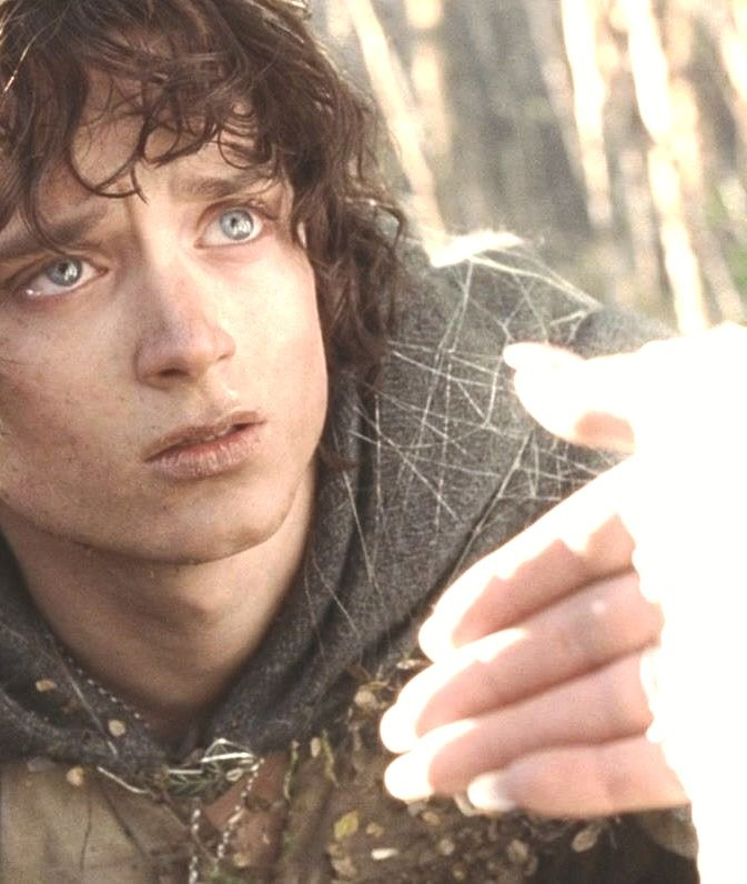 """""""This task was appointed to you, Frodo of the Shire. If you do not find a way, no one will."""" -Galadriel"""