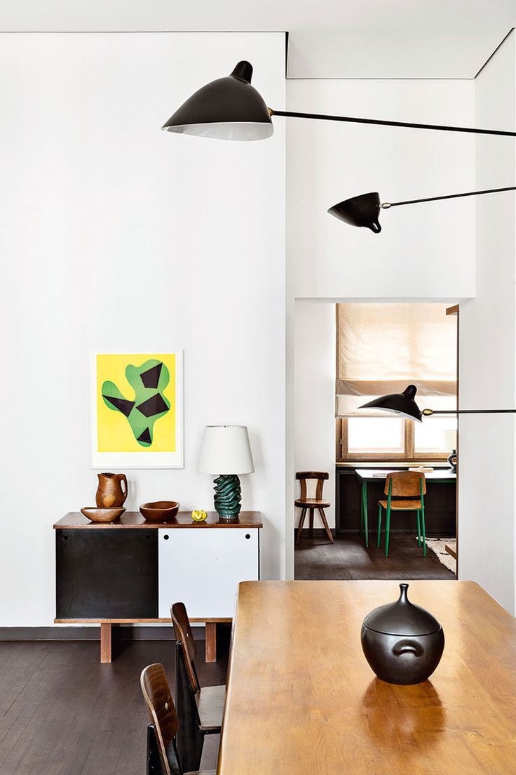 New trend painted chairs with dipped or raw legs jelanie - Emmanuel De Bayser S 19th Century Berlin Apartment