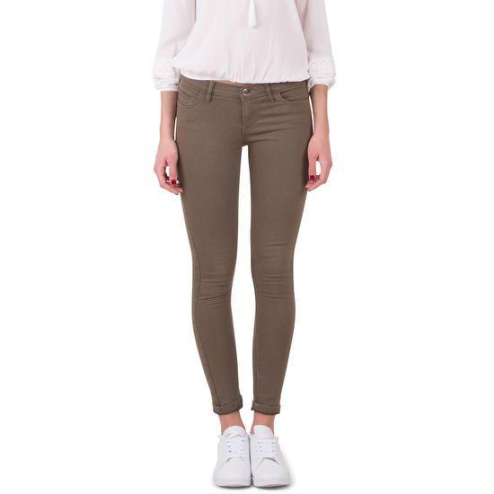 Pantalon skinny kaki cl