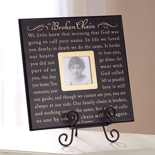 The Broken Chain Verse Photo Frame Gift Ideas Pinterest Broken
