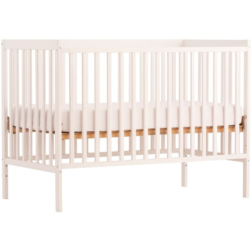Storkcraft - Sheffield 2-in-1 Fixed-Side Convertible Crib, White $99