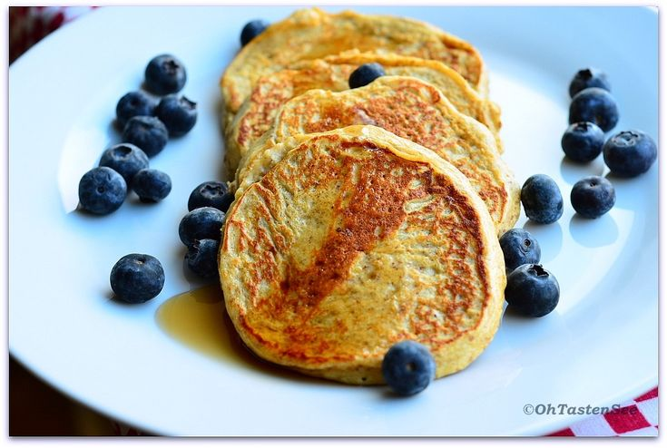 Whey Protein Powder Pancakes(Low carb/High Protein) - Oh Taste n See.....