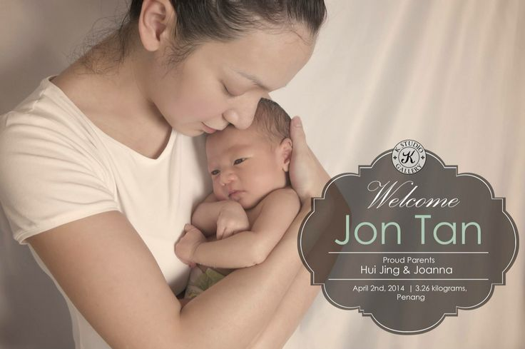 Newborn photography by the k studio in penang